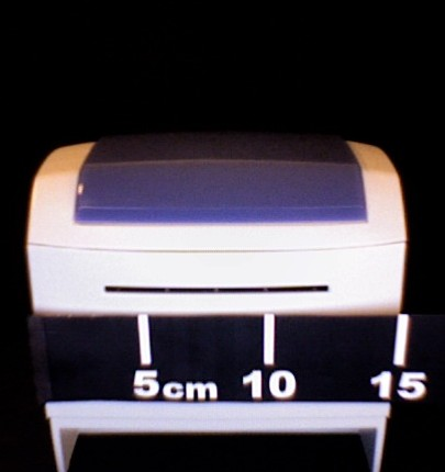 mesure de la largeur de l'ODP200