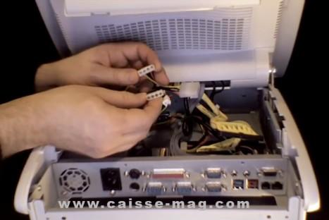 câblage interne du TPV posligne odyssé