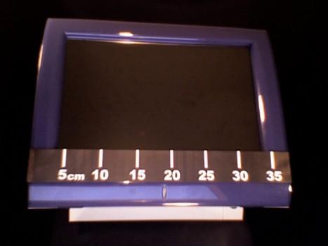 mesure de la largeur de l'écran du TPV POSligne Odyssé