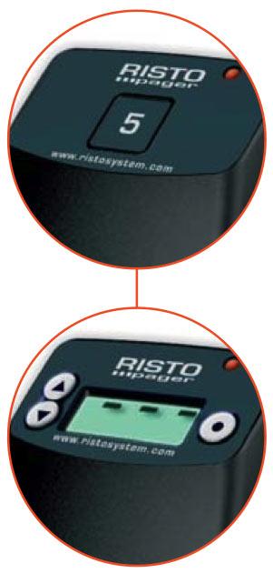 pagers risto system avec et sans écran