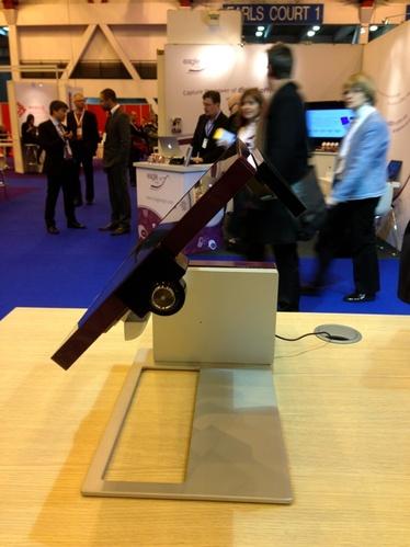 TPV Sango d'Aures Technologies sur le salon RTBE de Londres