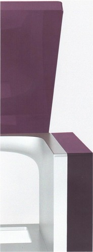 Sango violet de dos, avec son unité centrale