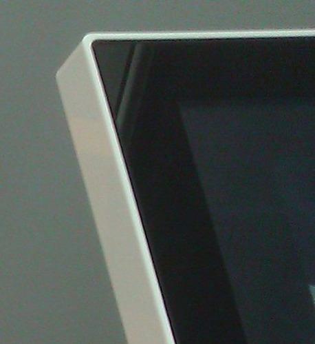 Le Sango, avec l'écran au pourtour blanc