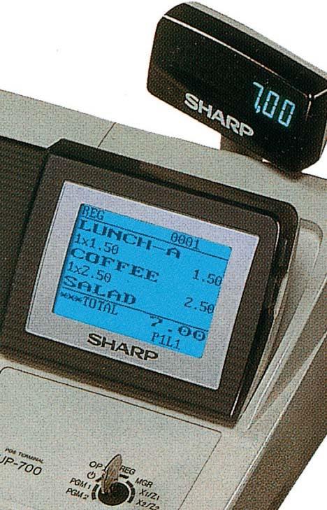 Caisse enregistreuse Sharp