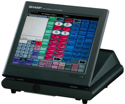 terminal point de vente sharp up-x300