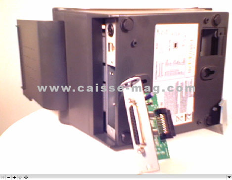 Imprimante-ticket thermique Solumag Soluprint 80 démontée