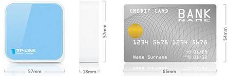Le Star WiFi Power Pack plus petit qu'une carte de crédit!