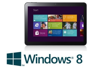 Tablette tactile Windows 8