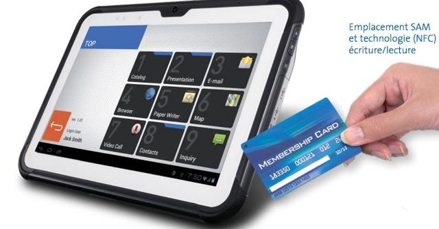 Caisse 39 39 mag code barre caisse enregistreuse et - Tablette tactile avec port usb ...