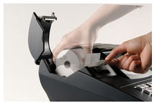 changement de papier dans une tec MA-600