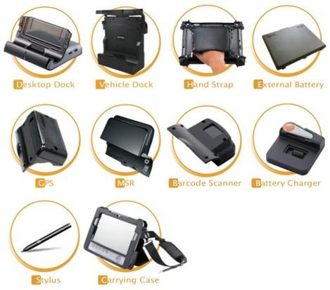 Les accessoires de la tablette tactile Carpo